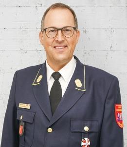 Kreisbrandrat Johannes Eitzenberger